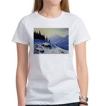 Winter mountain scene T-Shirt