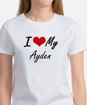 I Love My Ayden T-Shirt