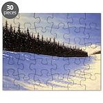 Winter evergreens Puzzle
