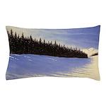 Winter evergreens Pillow Case