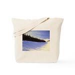 Winter evergreens Tote Bag