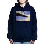Winter evergreens Women's Hooded Sweatshirt