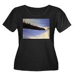 Winter evergreens Plus Size T-Shirt