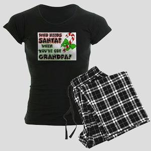 Santa? Grandpa! Pajamas