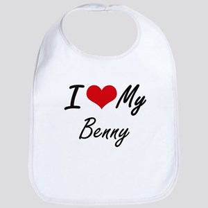 I Love My Benny Bib