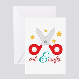 Arts & Crafts Greeting Cards