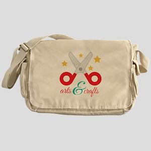 Arts & Crafts Messenger Bag