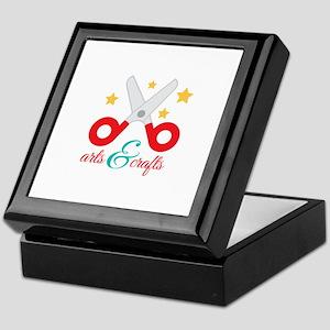 Arts & Crafts Keepsake Box