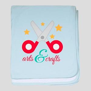 Arts & Crafts baby blanket