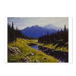 Summer forest landscape Postcards (Package of 8)