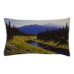 Summer forest landscape Pillow Case