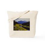 Summer forest landscape Tote Bag