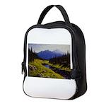 Summer forest landscape Neoprene Lunch Bag