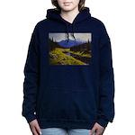 Summer forest landscape Women's Hooded Sweatshirt