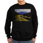 Summer forest landscape Sweater