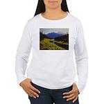 Summer forest landscape Long Sleeve T-Shirt