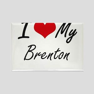 I Love My Brenton Magnets