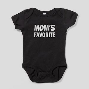 Mom's Favorite funny child Baby Bodysuit