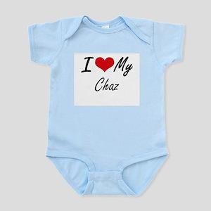 I Love My Chaz Body Suit