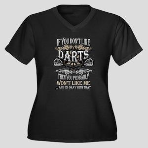 Darts T-shirt - If you don't lik Plus Size T-Shirt