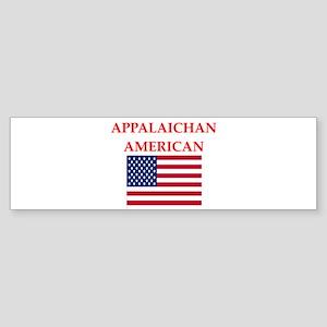 appalachian american Bumper Sticker