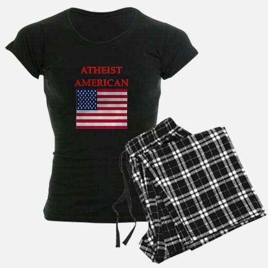 athiest american Pajamas
