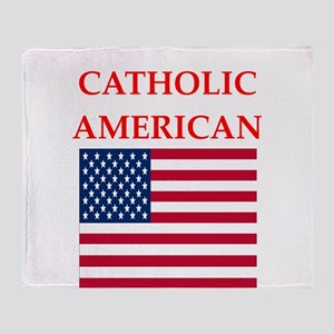 catholic Throw Blanket
