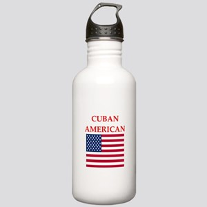 cuban american Water Bottle