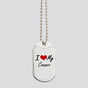I Love My Conner Dog Tags