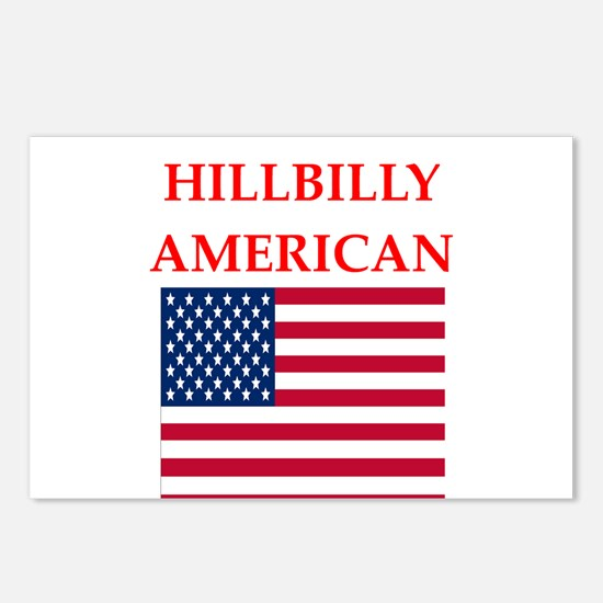 hillbilly american Postcards (Package of 8)