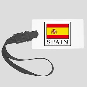Spain Large Luggage Tag
