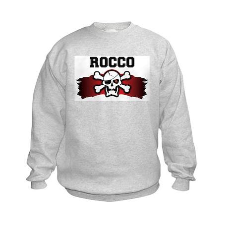 rocco is a pirate Kids Sweatshirt