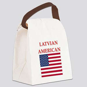 latvian Canvas Lunch Bag