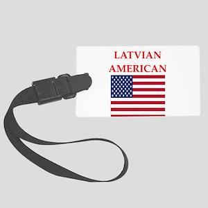 latvian Luggage Tag