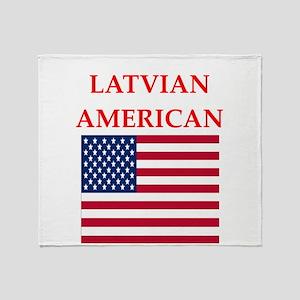 latvian Throw Blanket