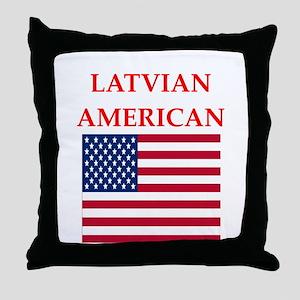 latvian Throw Pillow