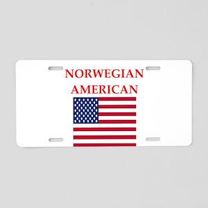 patriotic americans Aluminum License Plate