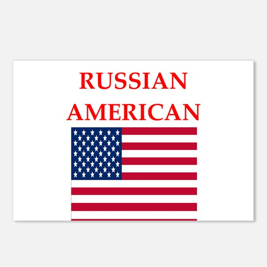 russian Postcards (Package of 8)