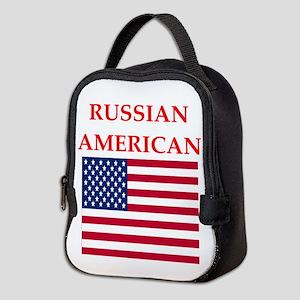 russian Neoprene Lunch Bag