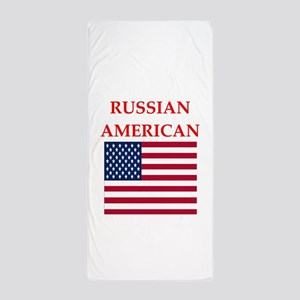 russian Beach Towel