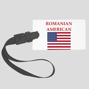 romanian Luggage Tag