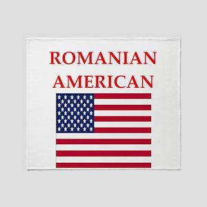 romanian Throw Blanket