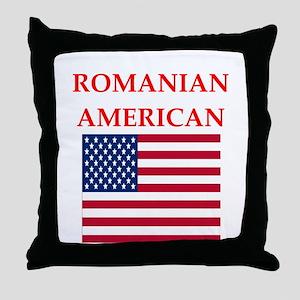 romanian Throw Pillow