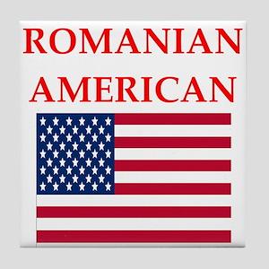romanian Tile Coaster