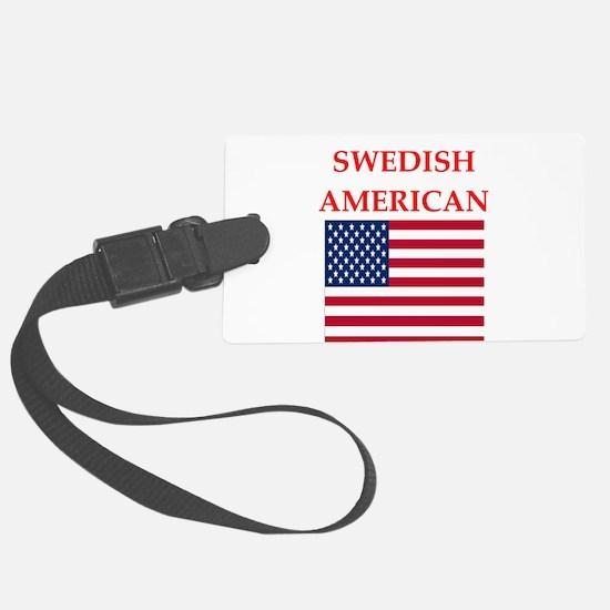 swedish Luggage Tag