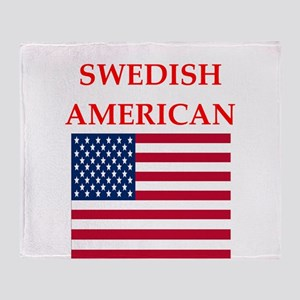 swedish Throw Blanket