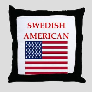 swedish Throw Pillow