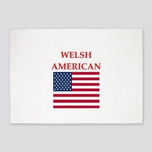 welsh 5'x7'Area Rug
