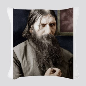 rasputin Woven Throw Pillow