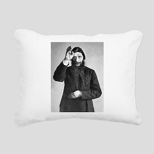 rasputin Rectangular Canvas Pillow